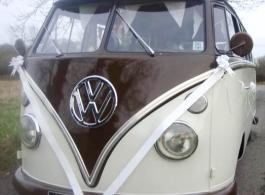 Campervan wedding hire in Brighton
